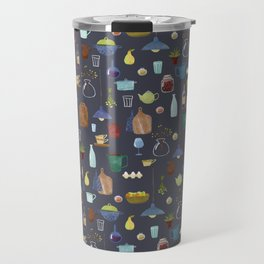Kitchenware. Pitchers, pots, kettles and so on. Travel Mug