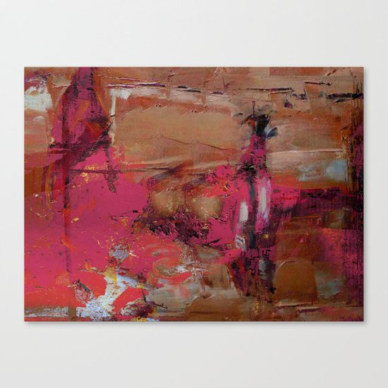 Mud Wall Canvas Print
