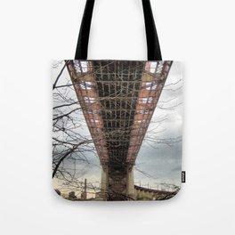 UNDER HELLS GATE NYC  Tote Bag