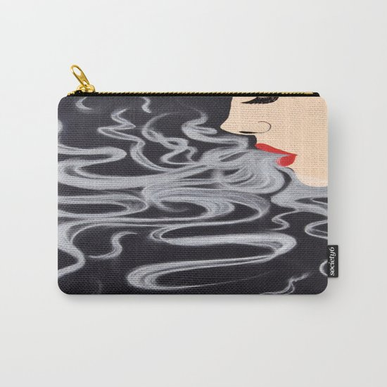 Smoke Dreams, Smoking Lady Series Carry-All Pouch