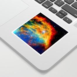 Rainbow Medusa Nebula Sticker