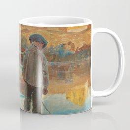 Carl Wilhelmson Boy Fishing Coffee Mug
