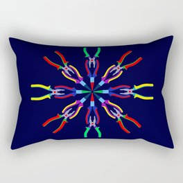 Pliers Design Rectangular Pillow