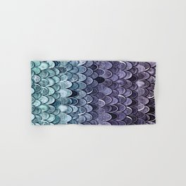 MAGIC MERMAID - MYSTIC TEAL-PURPLE Hand & Bath Towel