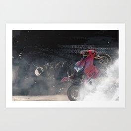 Imagination fantasy moto Art Print