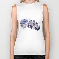 transformers Biker Tanks featuring Transformers - Megatron by Evan DeCiren
