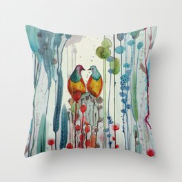 La belle histoire Throw Pillow