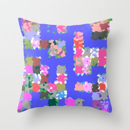 Magic Dots Throw Pillow