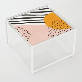 Abstract, Mid century modern art Acrylic Box