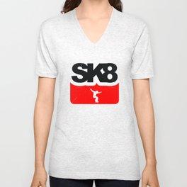 Skateboarding Unisex V-Neck