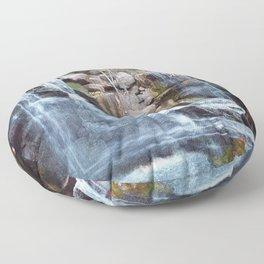 The Fall Floor Pillow