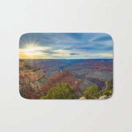 Grand Canyon Sunset from Hopi Point Bath Mat