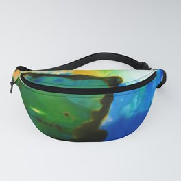 Abstract Bliss 4I by Kathy Morton Stanion Fanny Pack
