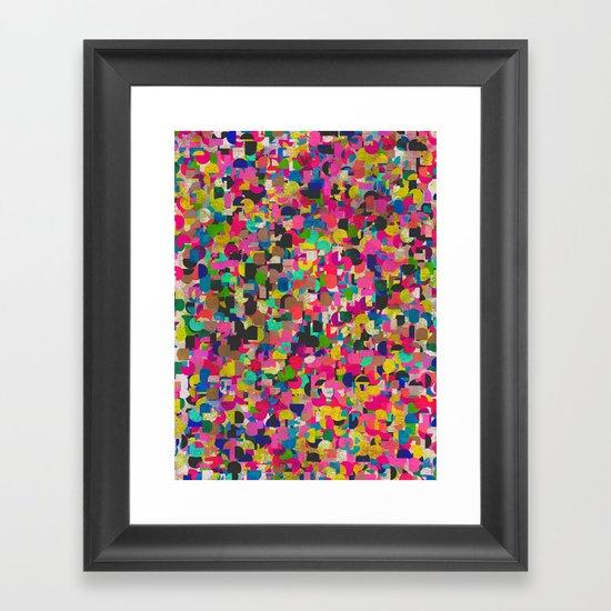 City Rush Framed Art Print