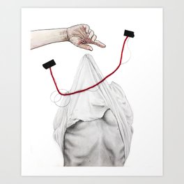 Love Invites Tragedy Art Print