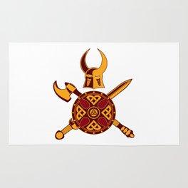 Norse War Icon Rug