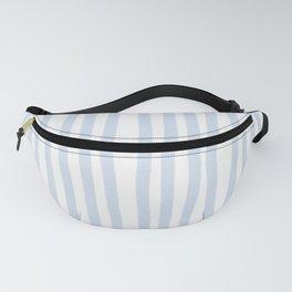 Light Blue Stripes Fanny Pack