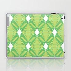 Abstract [GREEN] Emeralds Laptop & iPad Skin