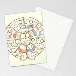 Vitruvian Turtle Stationery Cards