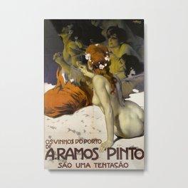 Vintage poster - Aramos Pinto Metal Print