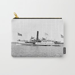 Ticonderoga Steamer on Lake Champlain Carry-All Pouch