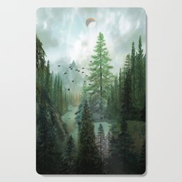 Mountain Morning 2 Cutting Board