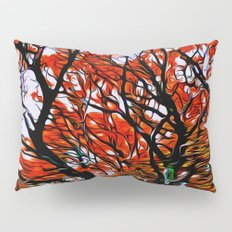 Raging Trees Pillow Sham