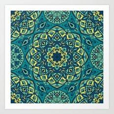 Mandala 4 Art Print