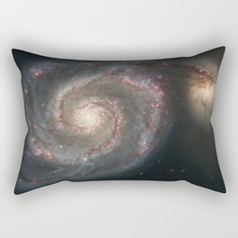 Whirlpool Galaxy Rectangular Pillow