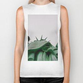 New York City: Statue of Liberty (Color) Biker Tank