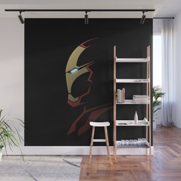 Iron man portrait Wall Mural