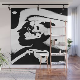 The Masks We Wear Wall Mural