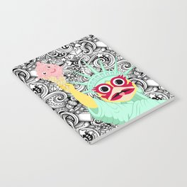 Liberty and elrow for All Notebook