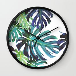 Monstera Bondi Wall Clock