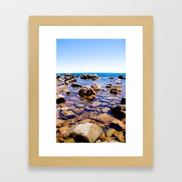 Sugar Loaf. Framed Art Print