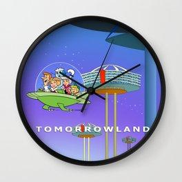 tomorrowland, jetson, future Wall Clock