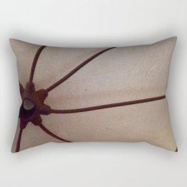 Rusty antique wagon wheel Rectangular Pillow