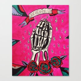 rock n' roll Canvas Print