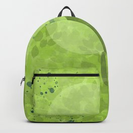 Just Breathe | Green Foliage Backpack