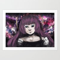 vocaloid Art Prints featuring Vocaloid - Luka Mentalism by MangoTango