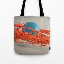 Liquid orbit Tote Bag