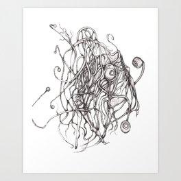 Unfortunate Love Story P2 Art Print