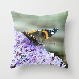 Butterfly II Throw Pillow
