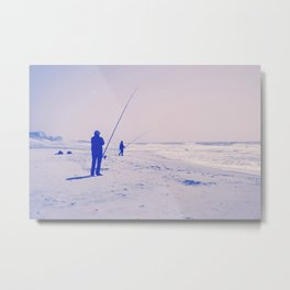 The two fishermen Metal Print
