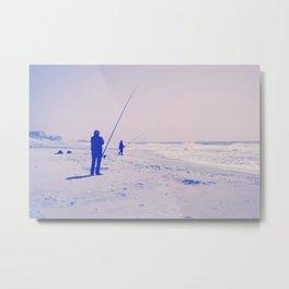 The two fishermen Metal Print