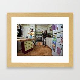 Domestic Duality Framed Art Print