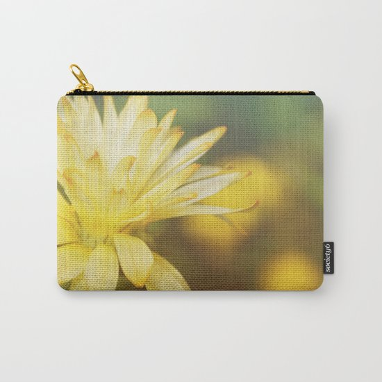 Dreamy yellow wild flower Carry-All Pouch
