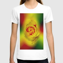 Abstract in Perfection - Rose T-shirt