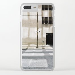 One Way - Exit Only 2 Clear iPhone Case