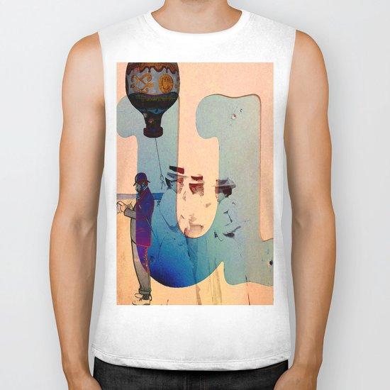 """Collage """" les demoiselles d'Avignon """" Biker Tank"""